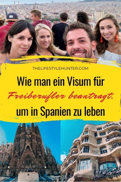 Visum für Freiberufler Spanien