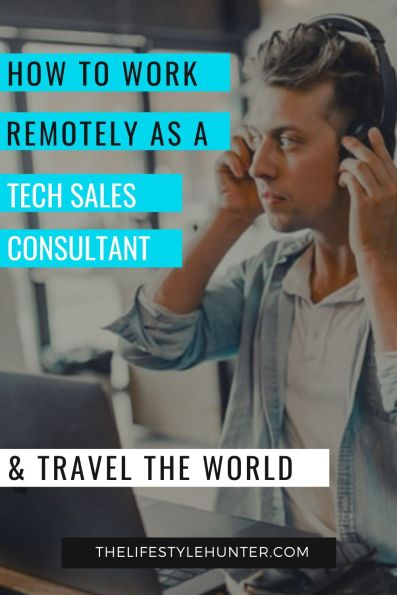 Tech sales consultant work