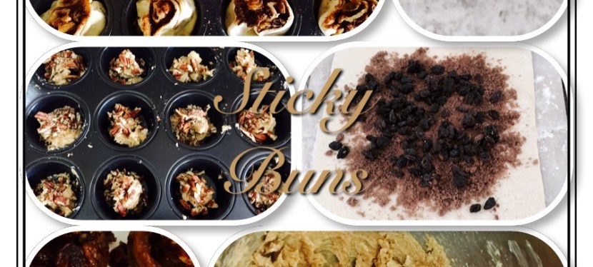 Baking Buns- Sticky & Yummy