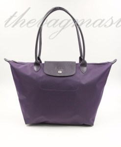 LONGCHAMP Le Pliage Neo Large Long Handle- Bilberry
