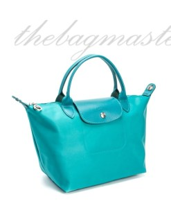 Longchamp Le Pliage Neo Small Shorthandle - Turquoise