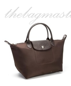 Longchamp Le Pliage Neo Small Shorthandle- Choco Brown