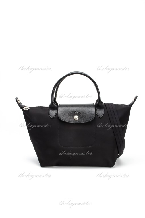 LONGCHAMP Le Pliage Neo Small Short handle – Black