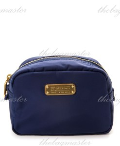 Marc Jacobs Nylon Cosmetic Pouch - Blue