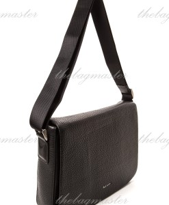 Paul Smith Black City Webbing Messenger Bag