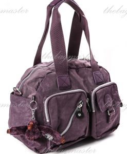 Kipling Defea Medium Shoulder Bag - Plum Purple