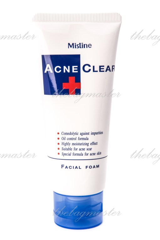mistine Acne + Clear Facial Foam (1)
