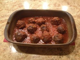 Classic Meatballs and Sauce