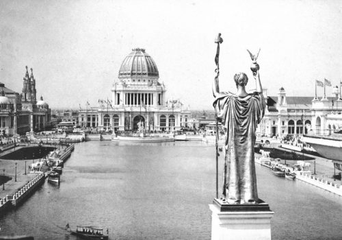 """The """"White City"""" of the World's Columbian Exposition."""
