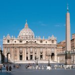 St. Peter's Square in Vatican City, Rome.