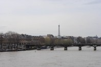 View from Pont Neuf - my first site of the Seine