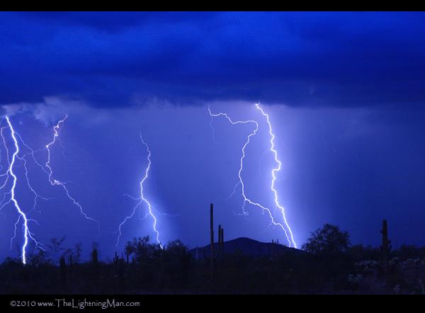 Desert Storm 600as High Desert Lightning Storm