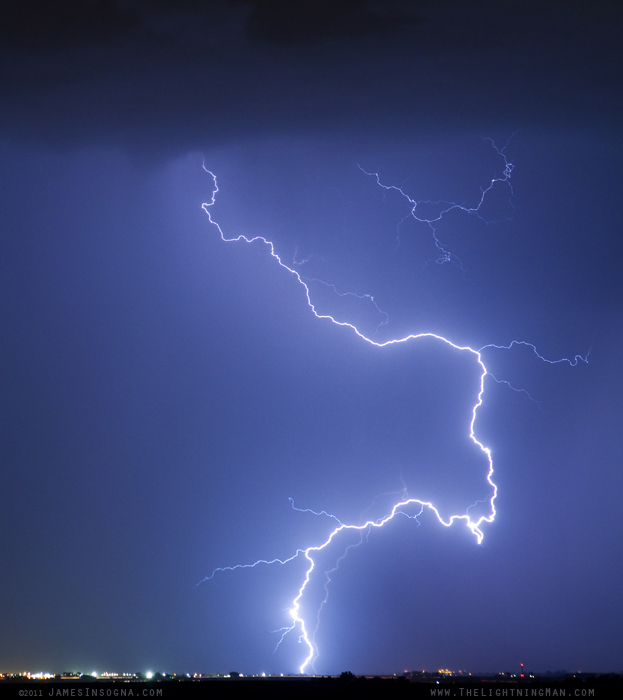 Nature Strikes fine art lightning phtography print, stock image and canvas art