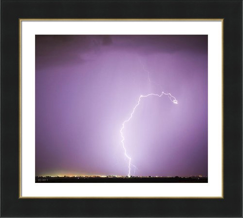 Nature-Showing-Face- fine art photography Framed-Print
