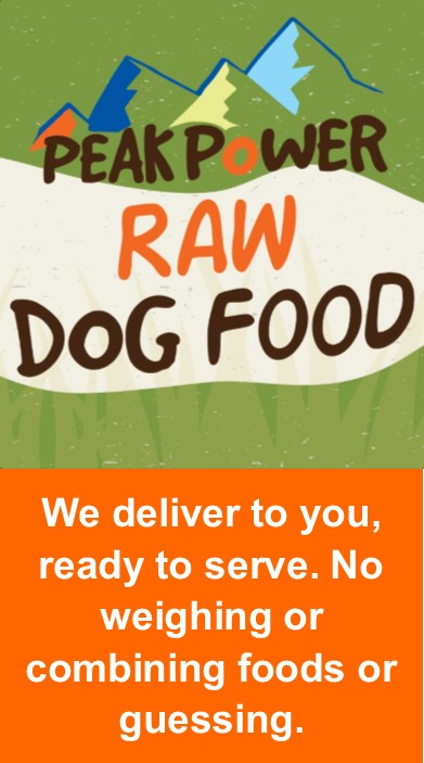 Peak Power Raw Dog Food