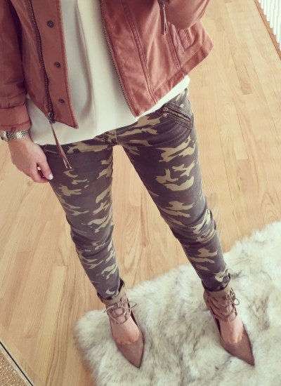 Bring on the Camouflage // Best Camo Pants & Jackets for Layering