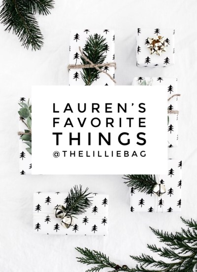 My Favorite Things 2017 : Just to Name a Few !