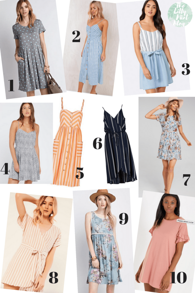 Must Have Dresses For Summer