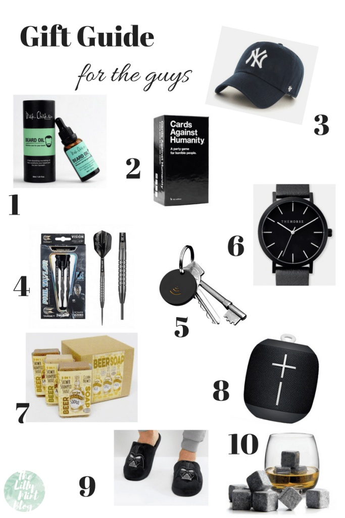 Gift Guide: Gifts for Guys