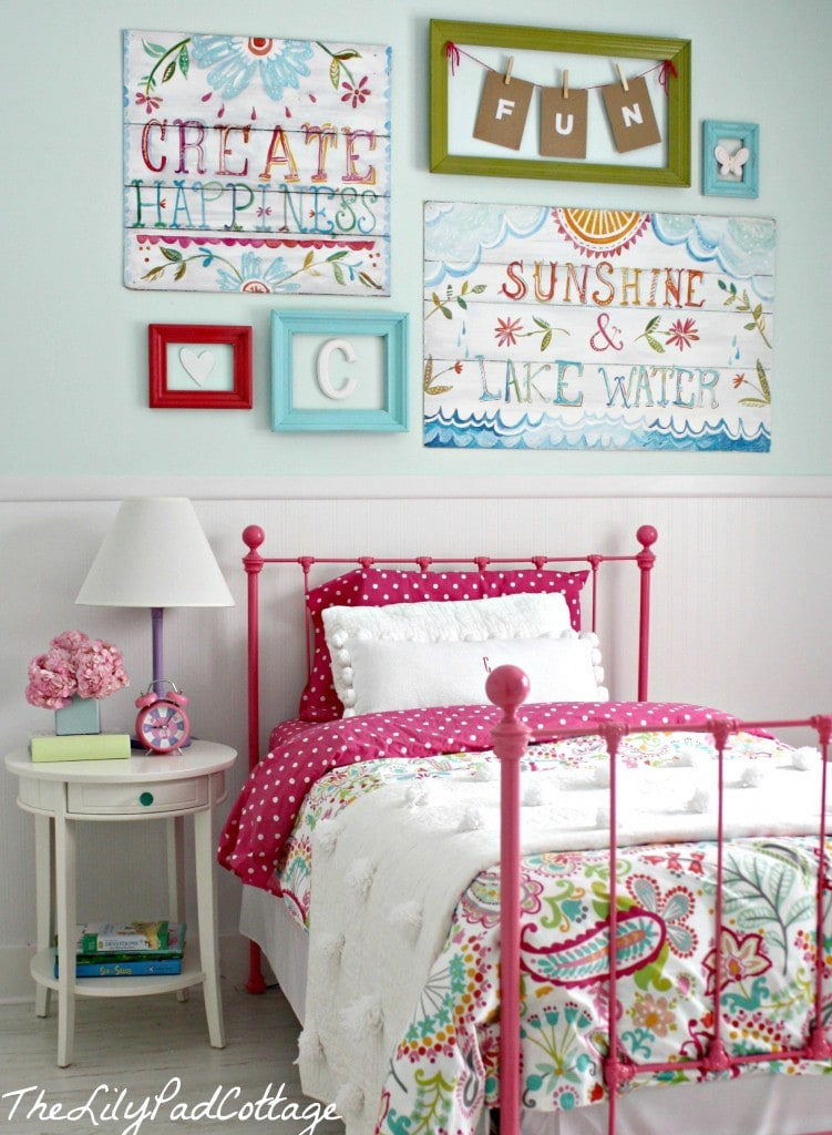Big Girl Bedroom Reveal - Finally - The Lilypad Cottage