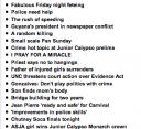 Headlines from Trinidad Express, Feb 4 2007