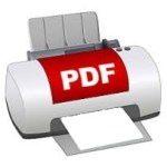 PDF printer wo icon