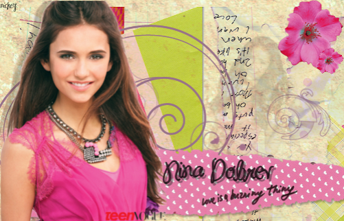 nina dobrev signature for geri. by nickey.