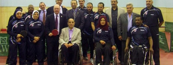 Egyptian-Paralympic-Table-Tennis-Team