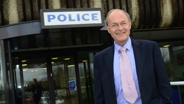 Alan Hardwick, the first elected Lincolnshire PCC. Photo: Steve Smailes for The Lincolnite
