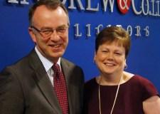 Simon Smith and Julie Bailey