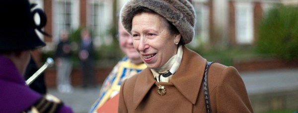 Princess Anne during a visit at Lincoln Cathedral in 2013.