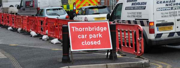 Thornbridge car park
