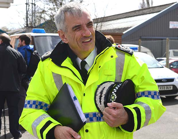 Lincolnshire Police Chief Constable Neil Rhodes. Photo: Steve Smailes for The Lincolnite