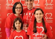 Cardiologist David O'Brien and his family. Photo: Danny Fitzpatrick