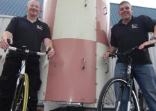 Engineers Gary and Marc will cycle from RAF Lossiemouth to RNAS Culdrose in just nine days.