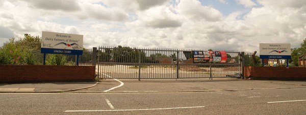 The site of the former Boultham Dairy, now earmarked for a mosque and supermarket development.
