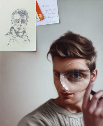 Heterochrome, a portrait of Fraser Scarfe by Greg Kapka. Zoom image