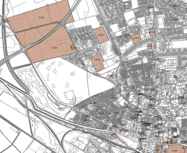 Carholme Ward developments.