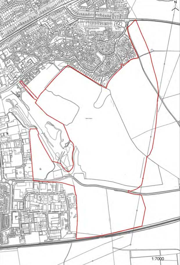 Lincoln North East Quadrant (Land at Greetwell including former Greetwell Quarry)