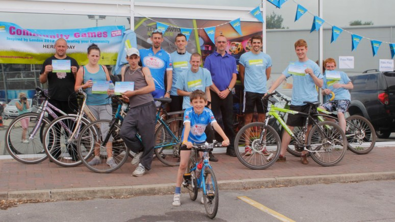 This group took on the 27-mile trek along the Witham and back. Photo: Lincolnshire YMCA