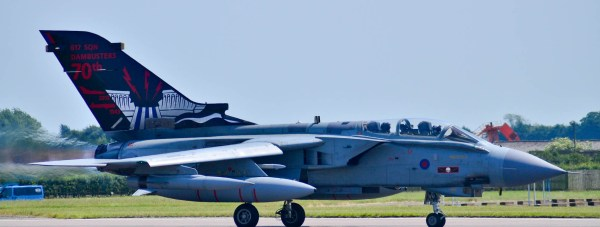 The Tornado GR-4 from 614 Squadron. Photo: Steve Smailes for The Lincolnite