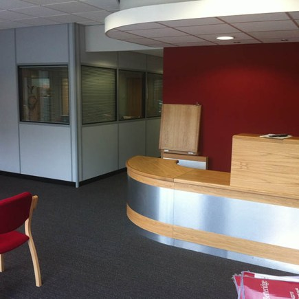 A preview of the firm's new offices.
