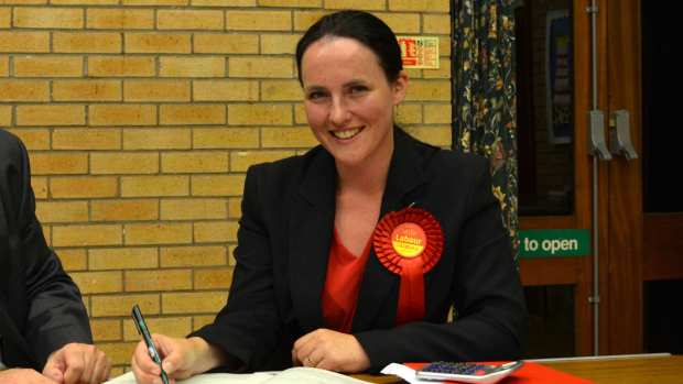 Katie Vause is Labour's new councillor for the Bracebridge ward.