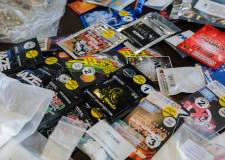 Examples of products known as 'legal highs'. Photo: Lincolnshire Trading Standards