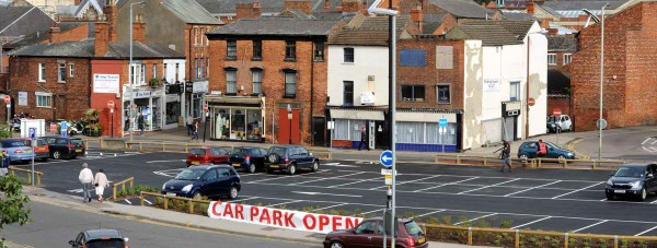 The newly opened Sincil Street car park which is featured in the new documentary.