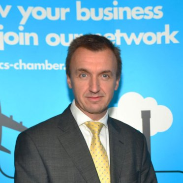 Simon Beardsley, Chief Executive at the Lincolnshire Chamber of Commerce. Photo: Steve Smailes for The Lincolnite