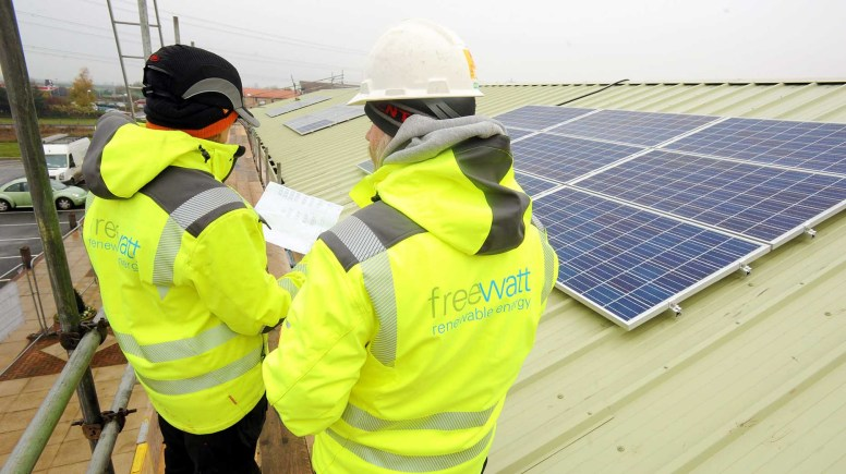 Lincoln's Pennells, one of the oldest garden centres in the UK, has invested £145k in solar panels by Freewatt.