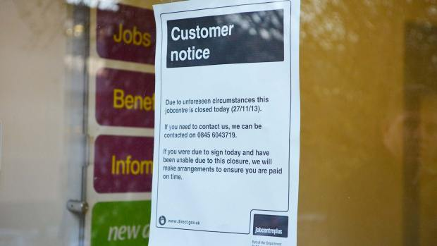 The Lincoln Jobcentre has been closed for the day following the incident. Photo: Emily Norton
