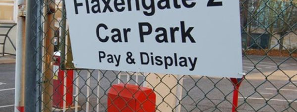 The Flaxengate 2 car park. Photo: City of Lincoln Council