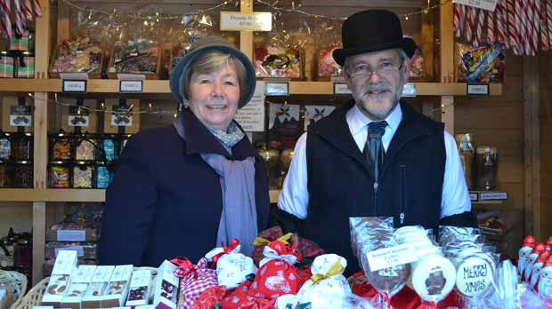 The Goodies of Lincoln Sweet stall sells an array of sweets from every generation. Photo: Emily Norton